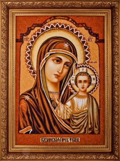 Казанская православная икона